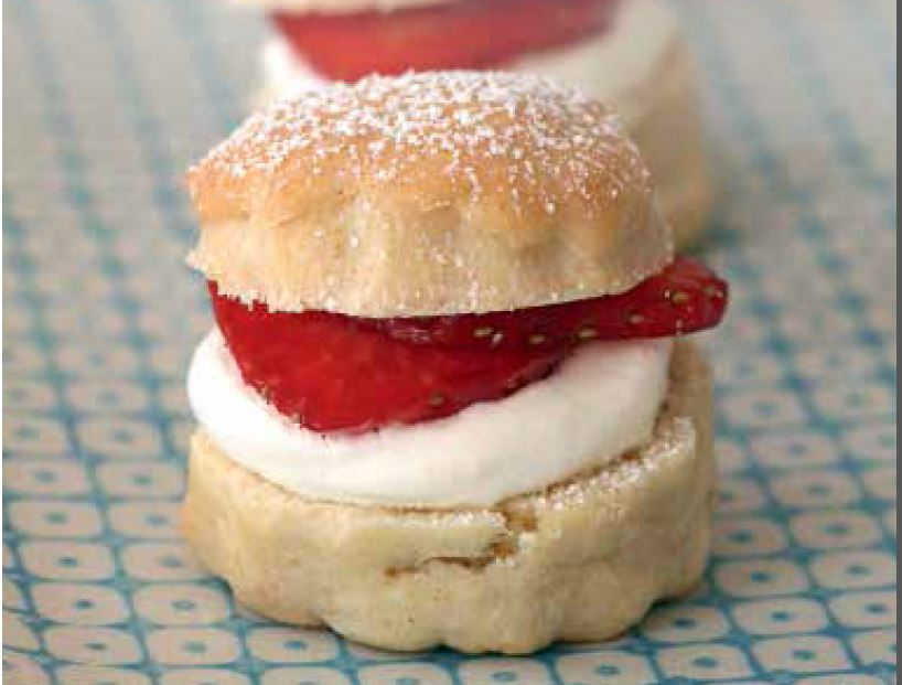 A taste of the clink canape cookbook s simple strawberry for Canape cookbook