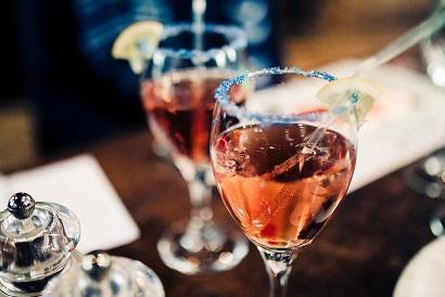 Non-Alcoholic Mocktail - Rose Garden